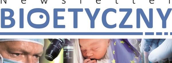 Zapraszamy do lektury lutowego Newslettera Bioetycznego