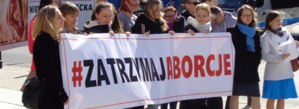 """Ruszyła zbiórka podpisów pod obywatelską inicjatywą ustawodawczą """"Zatrzymaj aborcję"""""""