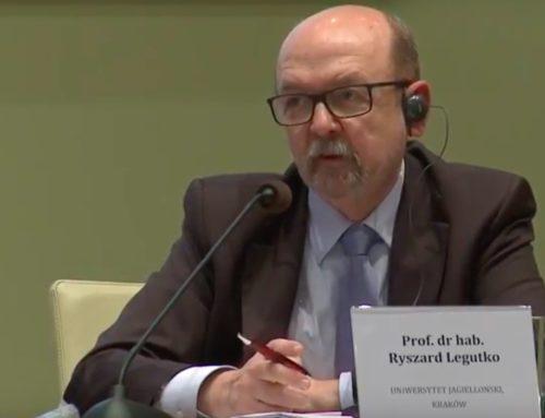 Prof. R. Legutko: Albo obronimy to, comamy, albo zostaniemy wchłonięci