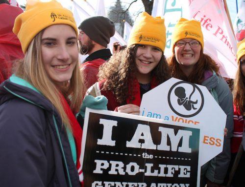 Waszyngtoński marsz życia: pro-life jest pro-naukowe