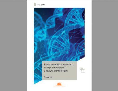 Publikacja RPO nt. problemów bioetycznych