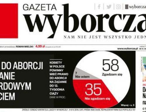 58 proc. Polaków ZA prawem do aborcji na żądanie do 12. tygodnia ciąży
