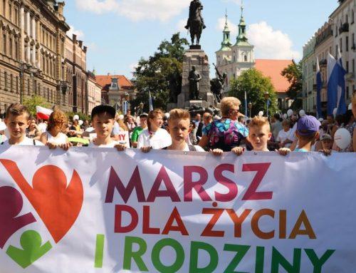 Po raz siódmy Marsz dla Życia i Rodziny w Krakowie