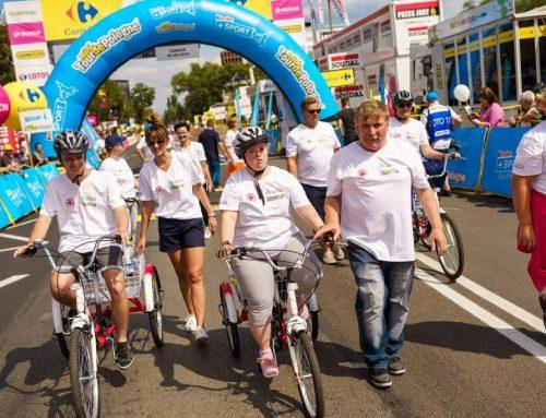 Ośmioro niepełnosprawnych kolarzy w Tour de Pologne