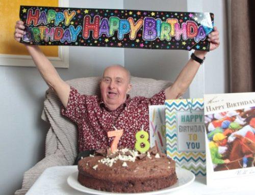 Robin z zespołem Downa świętował 78 urodziny