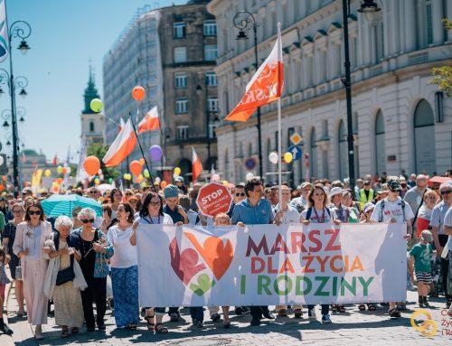 W niedzielę ulicami stolicy przejdzie Marsz dla Życia i Rodziny