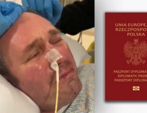 Paszport dyplomatyczny dla Polaka ze szpitala w Plymouth to kwestia godzin. W gotowości czeka już helikopter, którym miałby wrócić do kraju