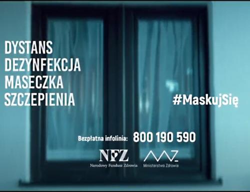 Wystartowała kampania społeczna #MaskujSię