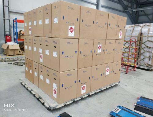 Trzeci samolot z pomocą od Caritas Polska dotarł do Bejrutu